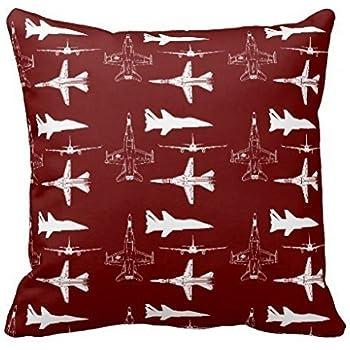 Amazon Aircraft Airplanes Boys Flying Throw Pillow Square Throw New Airplane Decorative Pillow