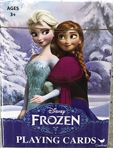 Disney & Licenses Playing Cards For All Ages and All Occasions (Frozen(Anna&Elsa))