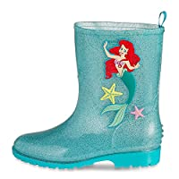 Disney Store Deluxe Ariel The Little Mermaid Rain Boots Shoes Toddler