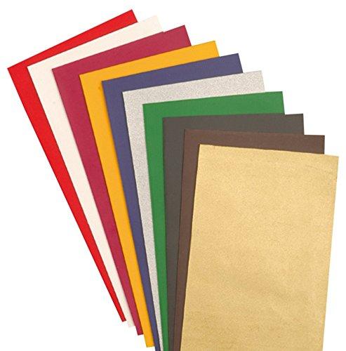 Efco Wax Sheet 100 x 100 x 0,5 mm 10 pcs. Assorted