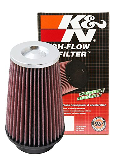 K/&N Round Tapered Clamp-On Air Filter RF-1045