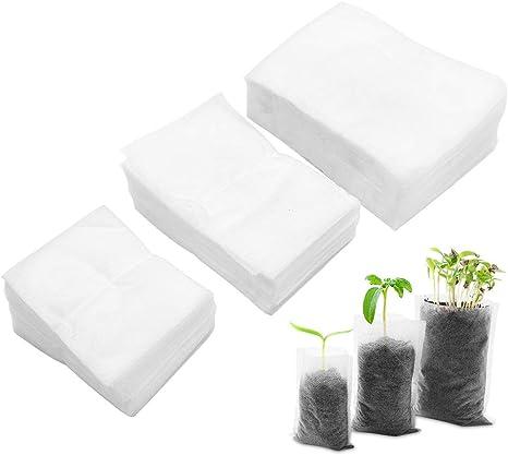 100pcs Non-woven Fabric Seedling-Raising Nursery Pots Bags Nursery Bags Garden N