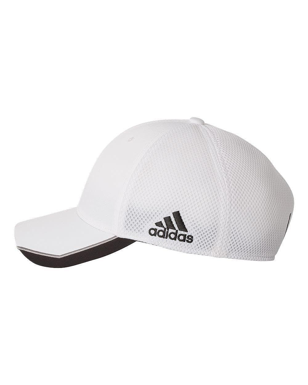 093deabe532 Amazon.com  adidas-Tour Mesh Cap-A620-SM MD-Bahia Blue- White  Sports    Outdoors