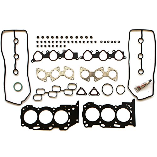 Gaskets Replacement Toyota - SCITOO Head Gasket Set Replacement for Toyota 4Runner Toyota Tacoma Toyota Tundra 4.0L DOHC V6 24V 05-06 Engine Head Gaskets Kit Sets