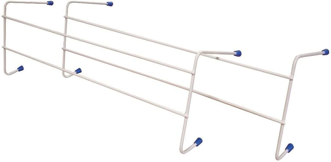 Smart 2 Bar Radiator (2 PCS) Clothes Airer - 2.5m Drying Space - FREE UK Mainland Delivery