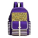 old 2 dollar bill - Mini School Backpack For Kindergarten Boy Girl,Print Many Dollars,Purple
