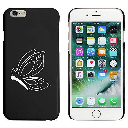 Noir 'Papillon Orné' étui / housse pour iPhone 6 & 6s (MC00012169)