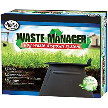 Four Paws Waste Manager Dog Disposal System