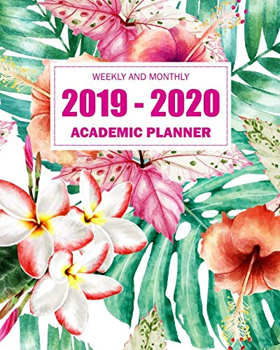 - 2019-2020 Academic Planner Weekly And Monthly: Calendar oranizer at a glance monthly planner and yearly calendar academic year July 2019-June 2020 (July 2019 - June 2020 Academic calendar)