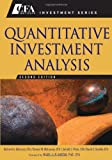 Quantitative Investment Analysis, Dennis W. McLeavey and Jerald E. Pinto, 0470052201