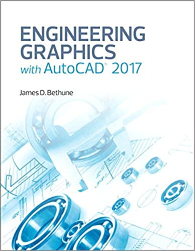 Amazoncom Engineering Graphics With Autocad 2017 9780134506968