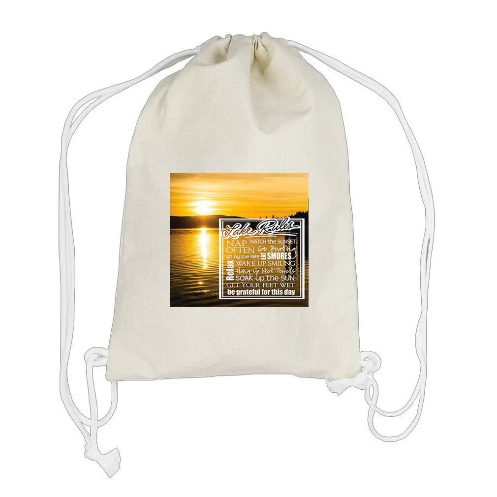 220cd8aaebd6 Amazon.com | Hang Up West Towels Soak Up the Sun Get Cotton Canvas ...