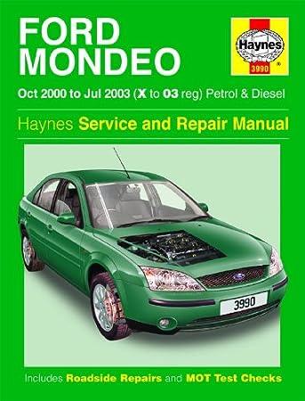 ford mondeo repair manual haynes manual service manual workshop rh amazon co uk ford mondeo repair manual free download ford mondeo repair service manual