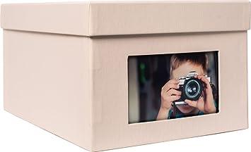 XL Fotobox Kandra 700 Fotos 13x18 cm eisgrau