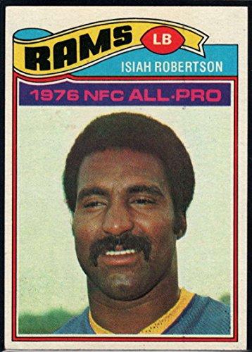 Football NFL 1977 Topps #430 Isiah Robertson AP LA ()