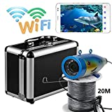 MAOTEWANG Wifi Wireless 20M underwater fishing camera video Recorder 1000TVL APP IOS Android