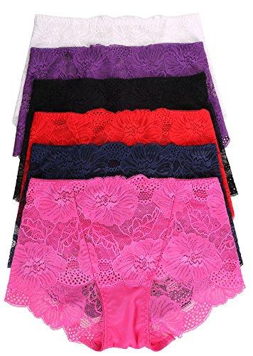 Simplicity Womens Waist Floral Panties