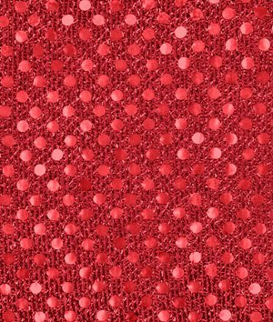 3mm Red Sequin Fabric - by the Yard by Online Fabric Store   B00I80H5Z2