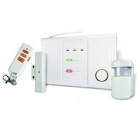 Zonas de 3 inalámbrica sistema de alarma, se compone de dispositivo de control, detector