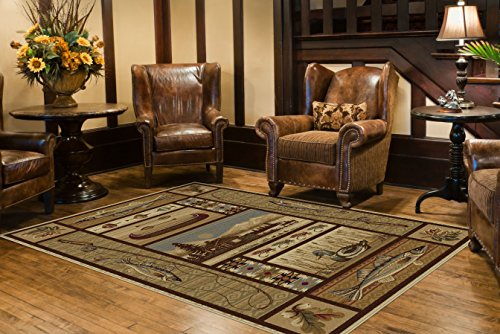 Universal Rugs Lodge Novelty Beige product image