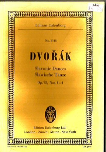 Slavonic Dances Op. 72, Nos. 1-4