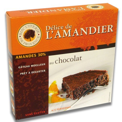 - Biscuiterie de Provence Gluten Free Chocolate Flourless Almond Cake