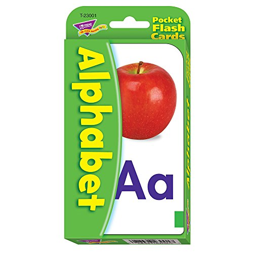 TREND enterprises, Inc. Alphabet Pocket Flash Cards