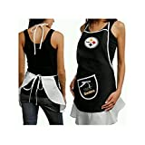 Hostess Apron - NFL - Pittsburgh Steelers - Team Logo Kitchen Home Outdoor Indoor BBQ Picnic Woman Lady Girl