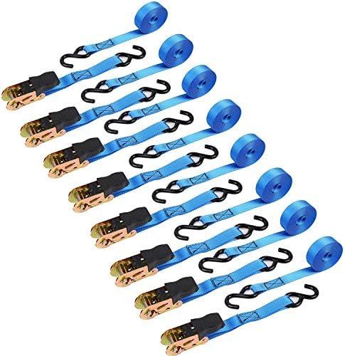 Ohuhu Ratchet 8 Pack Logistic Straps product image