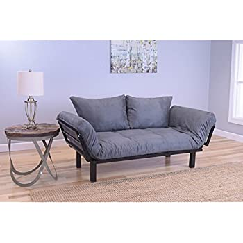 Amazon Com Somette Eli Spacely Daybed Lounger With Suede