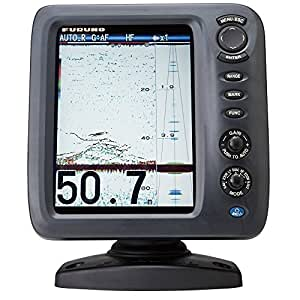 Furuno fcv588 color lcd 600 1000w 50 200 khz for Amazon fish finder