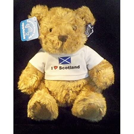 Russ Berrie I Love Scotland Football Mascot Teddy Bear 51HvpreRZDL