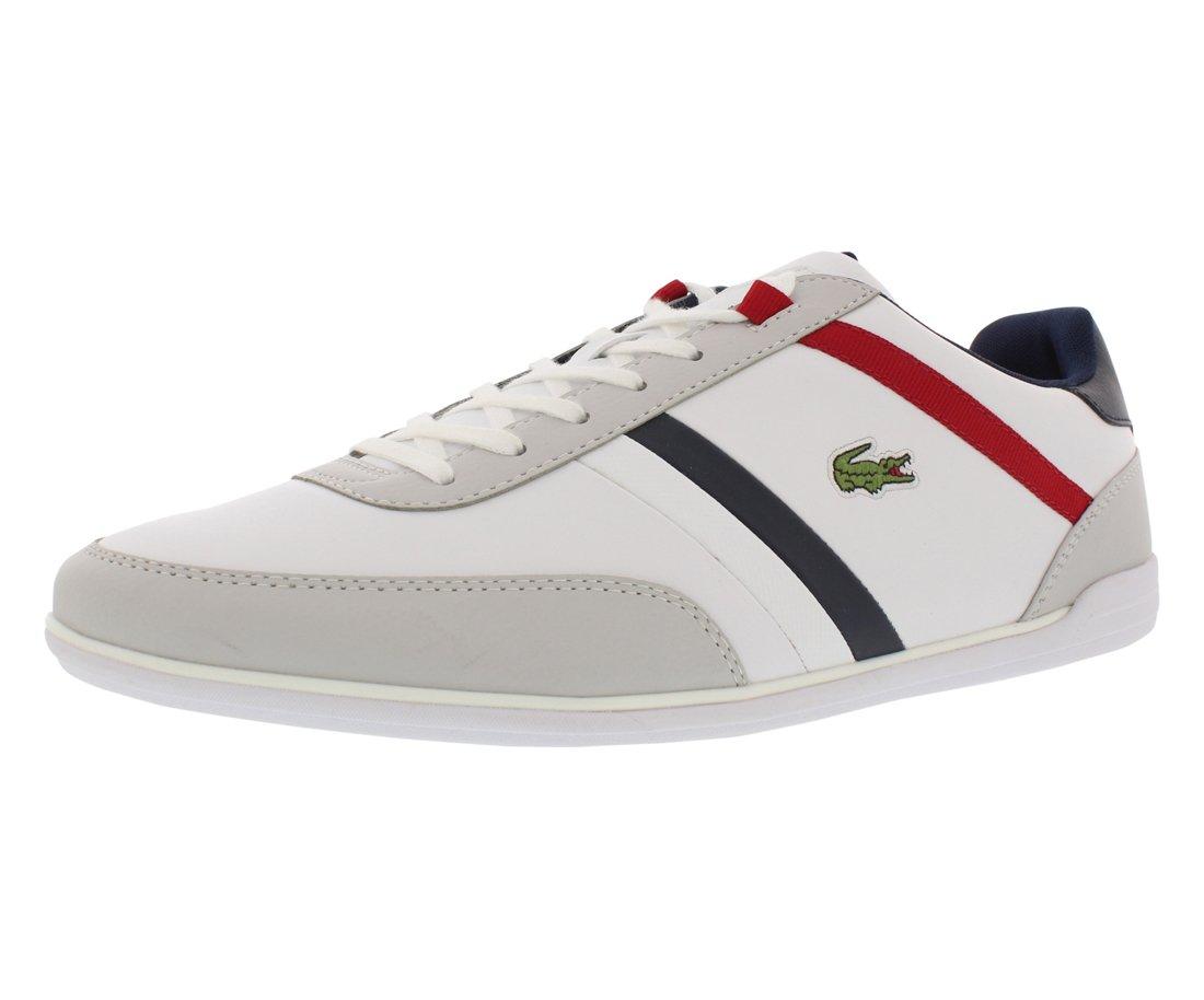 Lacoste Men's Giron TCL Fashion Sneaker, White/White, 11 M US