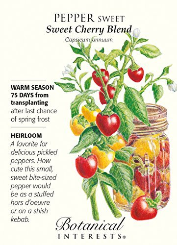 Sweet Pepper Sweet Cherry Blend by Hirts: Seed; Heirloom