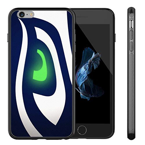 (Seahawks iPhone 8 Case,iPhone 7 Seahawks Design Case TPU Gel Rubber Shockproof Anti-Scratch Cover Shell for iPhone 8 / iPhone 7 4.7-inch)
