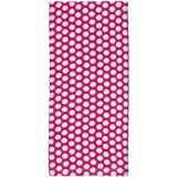 Gourmet Classics Verano Dots Terry Towel, Hot Pink