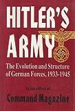 Hitler's Army, Command Magazine Editors, 0938289551