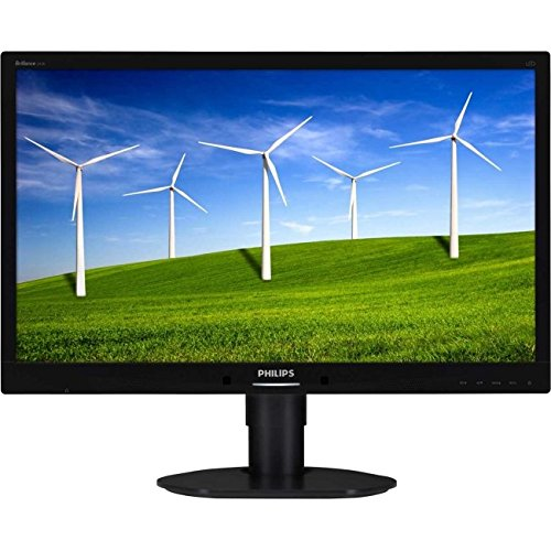 Brilliance 241B4LPYCB 24'' LED 1920 x 1080 20000000:1 LCD Monitor - Textured Black by Philips