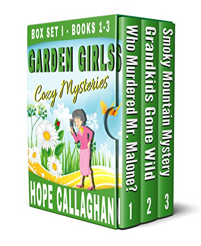 Garden Girls Cozy Mysteries Series: Cozy Mystery Box Set I (Books 1-3) -