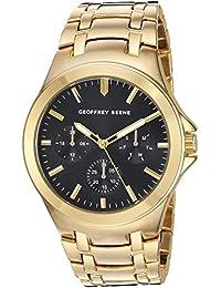 Geoffrey Beene Men's Quartz Metal and Alloy Dress Watch, Color:Gold-Toned (Model: GB8090GD)