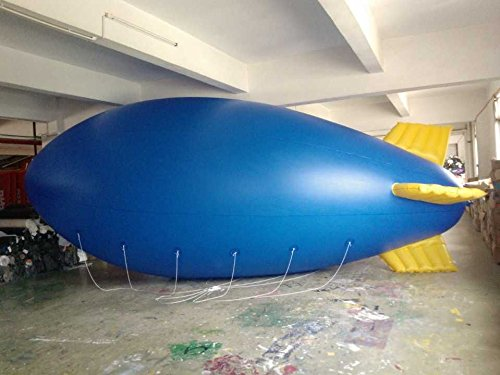 Air-Ads 6M 20ft Inflatable Advertising Blimps/Flying Giant Helium Airplane/Free Logo (PVC)