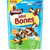 Bakers Mini Bones Dog Treats With Chicken 125G