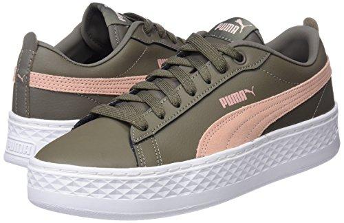 6c2e0b19d41 Puma Women s Smash Platform L Low-Top Sneakers