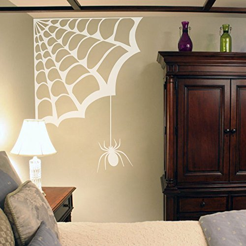 Larger Spider Web Wall Decal