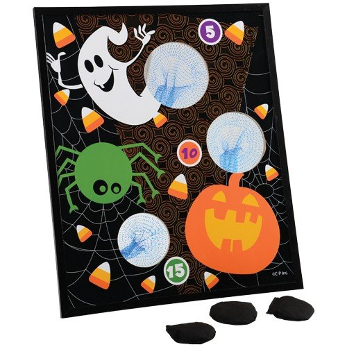 [HALLOWEEN BEAN BAG TOSS, Sold By Case Pack Of 4 Pieces] (Halloween Bean Bag Toss)