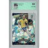 Neymar Jr. 2016 Panini Cracked Ice #89 SP, 19/25 Made Rookie Card PGI 10 - Panini Certified - Unsigned Soccer Cards