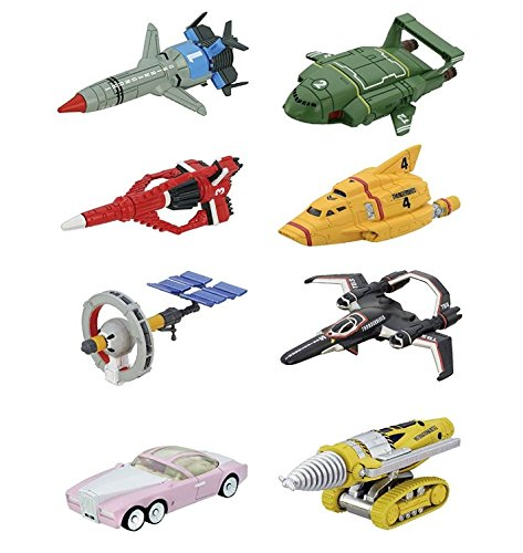 Thunderbird Tomica 01 ~ 08 - 8 pack complete set