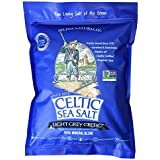Light Grey Celtic Sea Salt 5 Pound Resealable Bag – Additive-Free, Delicious Sea Salt, Perfect for Cooking, Baking and More - Gluten-Free, Non-GMO Verified, Kosher and Paleo-Friendly