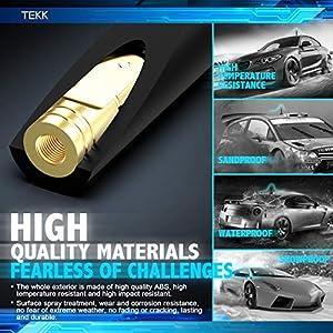 4.8 Inches 99-06 Jetta TEKK Short Antenna Compatible with 98-10 Beetle 96-05 Passat Designed for Optimized FM//AM Reception 91-08 Golf//R32 04-10 Rabbit 98-05 Corrado