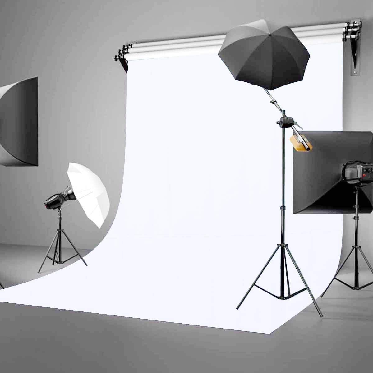 GoHeBe 5x7ft Backdrop White Screen Key Soft Pure White Studio Background ID Photo Photography Backdrop Photo Backdrops Customized Studio Photography Backdrop Background Studio Props LY164
